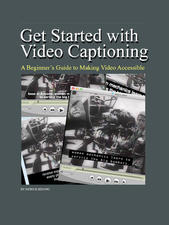 Getting Started with video captioning ebook cover